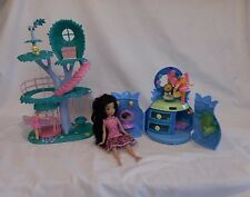 Lanard Fairykins The Enchanted Treehouse + Disney Fairies Silvermist Mini House