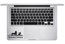 Lion King Hakuna Matata No Worries Trackpad Keyboard Laptop Macbook Sticker