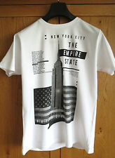 New york city empire state t shirt-pull homme vêtements de mode unisexe