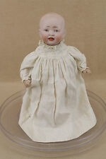 """11"""" antique bisque head composition German 151 character baby doll"""