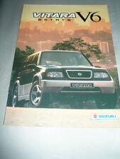 Suzuki Vitara Estate V6 FOLLETO c1998 mercado australiano