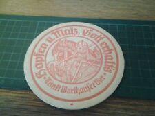 sottobicchiere beer mats birra  brauerei warthausen