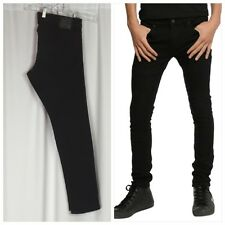 Social Collision For Hot Topic Black Button Fly Skinny Jeans Size 32x32