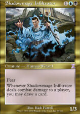 MTG magic cards 1x x1 Light Play, English Shadowmage Infiltrator Timeshifted