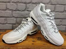 NIKE UK 9 EU 44 WHITE AIR MAX 95 TRAINER RRP £115 CROSSTOWN RUNNING RANGE