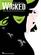Stephen Schwartz WICKED Beginning Piano Solo Learn to Play EASY Music Book