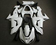 Unpainted ABS Injection Bodywork Fairing Plastic for KAWASAKI ZX-10R 2006 2007