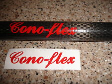 Conoflex sticker/label/decal (fishing rod repair, re-build, re-furb) Cono-flex