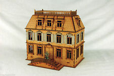 WW2 EUROPE CHATEAU 28mm N033 Laser cut MDF Building & Terrain