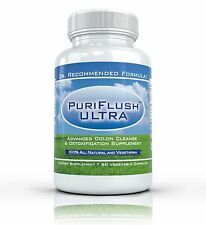 PURIFLUSH ULTRA - All Natural Complete Colon Cleansing Bowel Cleanse Supplement