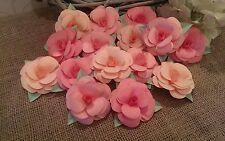 Papel de 25 Mesa De Boda Rosas. artesanías Cardmaking artesanías de boda de dispersión Flores.