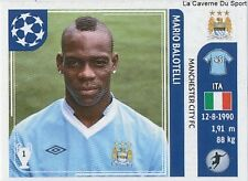 N°052 MARIO BALOTELLI # ITALIA MANCHESTER CITY.FC STICKER CHAMPIONS LEAGUE 2012
