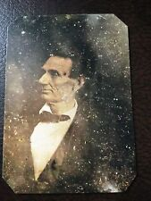 President Abraham Lincoln Civil War TinType C648NP