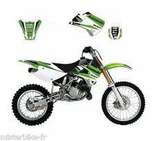 Kit déco Blackbird Dream Graphic III Kawasaki KX85 2001-2013