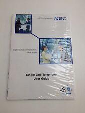Nec XN120 ligne simple téléphone guides de l'utilisateur (pack 4)