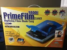 Pacific Image PrimeFilm 1800i Scanner NEW Plug And Play For Pc & Mac