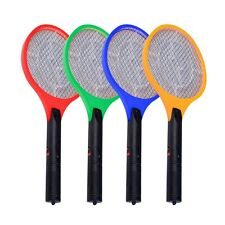 "20""X8.1/4""ELECTRIC FLY SWATTER RACKET LARGE MOSQUITO BUG INSECT ZAPPER 4 Colors"