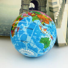 Baby Kids World Atlas Geography Map Earth Globe Bouncy Foam Ball Educational Toy