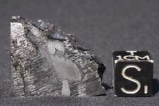 Uruacu Meteorite etched part slice 13.8 grams