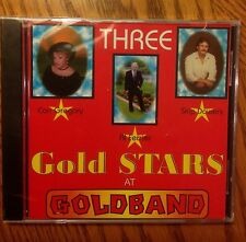 Three Gold Stars At Goldband Records Swamp Classics Volume 2 Al Ferrier CD New
