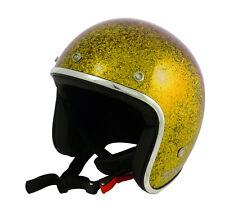 Casque casco helmet jet TORX WYATT OR Taille XS 53 54 CAFE RACER