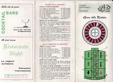 GIOCO DELLA ROULETTE CASINO MUNICIPALE DI SANREMO RISTORANTE NIGHT 12-134