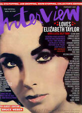 Interview Magazine February 2007 Elizabeth Taylor The Crystal Ball of Pop
