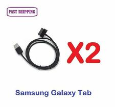 2 X Data Sync Charger Cable for Samsung Galaxy Tablet P6200 P6800 P7300 P7500