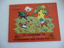 Edition Fleurus  Sylvain et Sylvette EDITION ORIGINALE à l'italienne N° 23