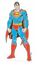 Classico Stile Fumetti SUPERMAN LifeSize cartone ritaglio Standee Standup DC Comics