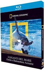 National Geographic I Giganti Del Mare Orche E Balenottere Azzurre Blu Ray