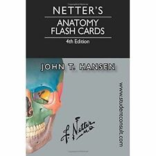 Hansen, John T.-Netter`S Anatomy Flash Cards  BOOK NEW