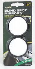 2x specchio convesso Blind Spot Traino Inversione Di Guida Autoadesivo Auto Furgone Moto
