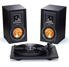 Klipsch R-15PM Speakers & Pro-Ject Primary Turntable Bundle New Factory Sealed