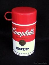 Vintage 1998  Campbell's Soup CAN-TAINER Hot-Cold Thermos