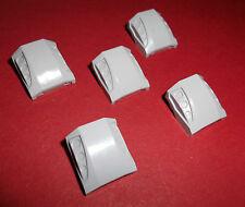 Lego (44675) 5 Schrägsteine/Motorhauben 2x2, in hellgrau aus 7726 7685 7298 4644