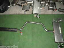 VW GOLF 7 TSI EXHAUST SYSTEM PRE-SILENCER NACHSCHALLDÄMPFER NEW ORIGINAL No.8