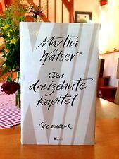 """Martin Walser   """"Das dreizehnte Kapitel""""    gebundene Ausgabe, neu"""
