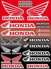 22 Aufkleber Honda-Motorrad