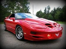 1998-2002 Pontiac Firebird Trans Am Ram Air Function WS6 Style Hood Body Kit