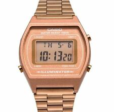 Rose Gold Retro Casio Illuminator Watch B640WC-5AEF