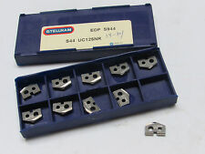 10 new STELLRAM S44 UC125NR S944 Carbide Unidrill Spade Drill Inserts