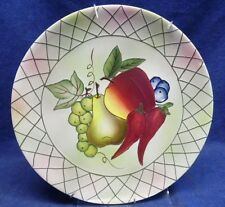 """Pacific Rim China """"Vegetables and Fruit"""" Dinner Plate -11"""""""