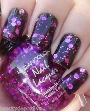 New Kleancolor BORN TO THE PURPLE Glitter Nail Polish