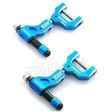 Active Hobby Aluminum Adjustable Upper Arm Set Rear Blue Tamiya TT-02 #STR204B
