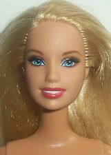 Blonde Jointed Arms Belly Button Body Nude Barbie Doll 4 OOAK or Play T424