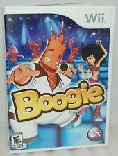 Nintendo Wii Boogie Video Game Sing & Create Dancing Party Routine Fun Minigames