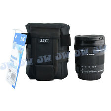 JJC Deluxe Lens Pouch Case Bag for Canon Nikon Sony Samsung Pentax 18-55mm Lens