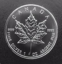 2012 Canada $5 Fine Silver Maple Leaf 1 oz.