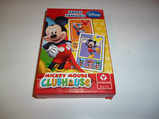 Disney Mickey Mouse Clubhouse Happy Families Game  playing card Set